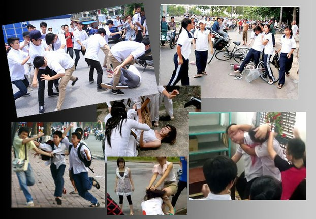 Tình trạng bạo lực học đường đang là vấn đề báo động đỏ trong xã hội