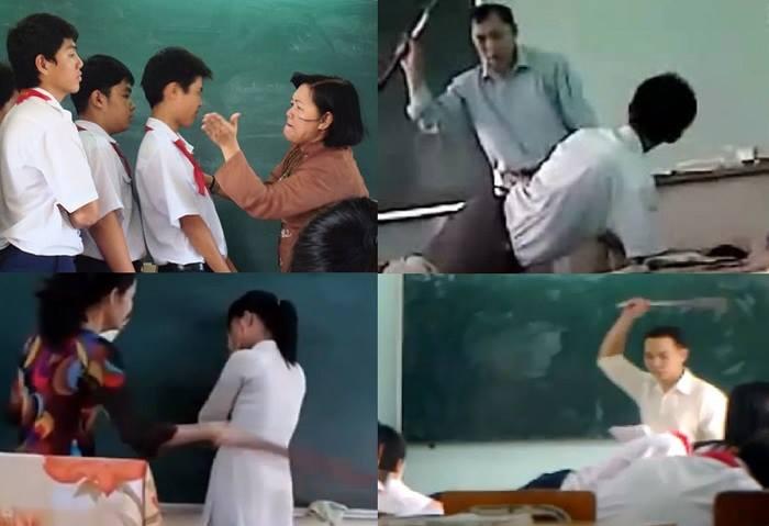 Tình trạng giáo viên bạo lực học sinh đang ngày càng phổ biến