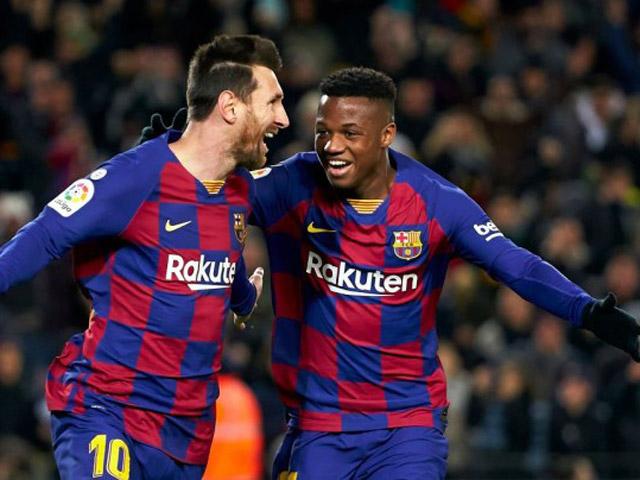 Barca không được đá La Liga